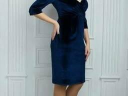 Шикарное платье из бархата 50,52,54 размеры