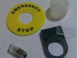 Шильдики, таблички, колпачки к кнопкам (аксессуары к кнопкам