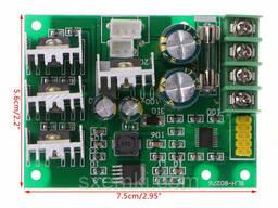 ШИМ регулятор оборотов двигателя постоянного напряжения с дисплеем 20/30А PWM