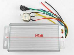 ШИМ регулятор скорости двигателя постоянного тока с реверсивным переключателем 70/80A в. ..