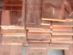 Медная электротехническая шина медь полоса