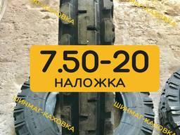 Шини 7.50-20 (200-508) В-103 Росава передні на трактор МТЗ-80 ЮМЗ Резина Скати