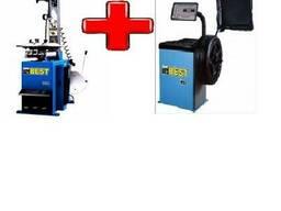 Шиномонтажное оборудование комплект Best T524 Best W62