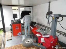 Шиномонтаж под ключ, домкрат, компрессор, оборудование СТО