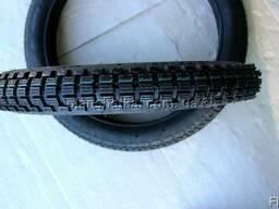 Шины на скутер 2.50-16 шестислойная камера, шип