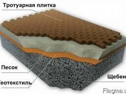 Шиповидная мембрана (Изолит), геотекстиль Typar SF