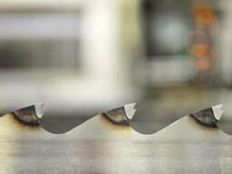 Широкие ленточные пилы по дереву для профессиональных пилорам Uddeholm (Швеция) 100*1,1*35