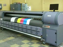 Широкоформатная печать на банере, пленке, сетке