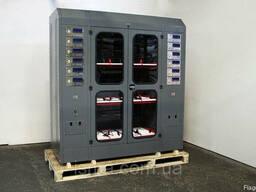 Шкаф для зарядки аккумуляторов со встроенным ЗУ