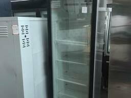 Шкаф холодильный б/у со стеклом INTER 501 T с гарантией