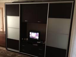 Шкаф купе под телевизор, шкаф купе Камелот. Рассрочка онлайн