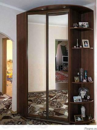 Шкаф-купе угловой 1500х1500х2400-экономия квадратных метров.
