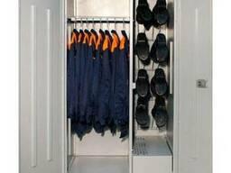 Шкафы для сушки одежды, белья, обуви на полках. тремпелях