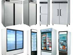 Шкафы-витрины Холодильные Морозильные Универсальные Рассрочк