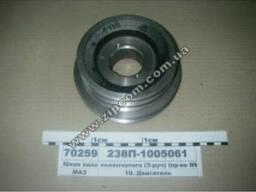 Шкив(2) (3-руч) коленчатого вала ЯМЗ-238 238П-1005061