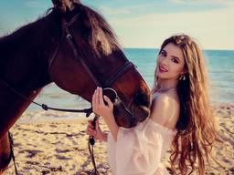 Лошади в Бердянске. Конные прогулки Golden Spike.