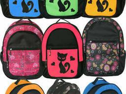 Школьный рюкзак, ткань кринкл (нейлон) для детей. ..