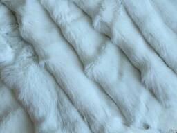 Шкуры кролика выделанные белые оптом продам