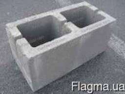Шлакоблок 190*190*390 (М75) стеновой заводской цена купить