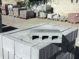 Шлакоблок, блок декоративный, блок заборный от производителя - фото 4