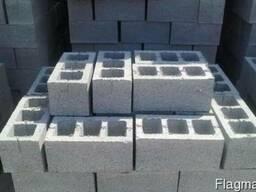 Шлакоблок, блок гранотсевный, бетонный