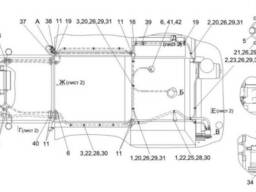 Шланг кондиціонера Палессе GS 812 05-070031-03.