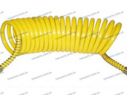 Шланг пневматический желтый Poliamid [12х9] 6m (DIN73378. ..