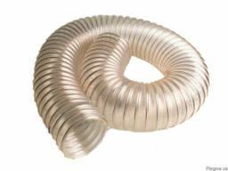Рукава гофрированные полиуретановые PU и ПВХ (PVC) аспирационные