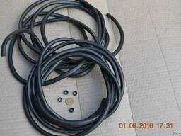 Шланга трубка резиновая бензостойкая диам. 6, стенка 1,5 мм