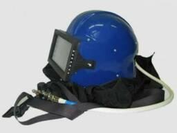 Шлем пескоструйщика, дробеструйщика защитный Кивер-1