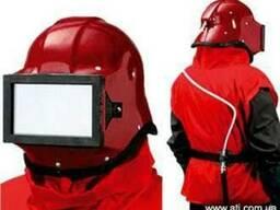 Шлем пескоструйщика защитный «Кивер-1»