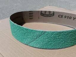 Шлифовальная лента 50х610 мм. CS910Y Klingspor керамика