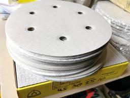 Шлифовальный круг диаметр 225 мм. 6 отверстий на липучке