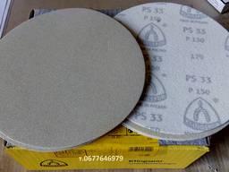 Шлифовальные круги диаметром 180 мм. Klingspor PS33 на липуч