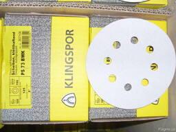 Шлифовальные круги на липучке PS 73 BWK Klingspor 125 мм.