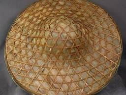 Шляпа бамбуковая (пр. Китай) 80 грн