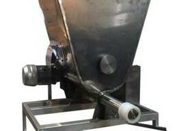 Шнековый дозатор специй в дражировочный барабан