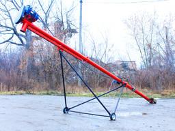 Шнековый погрузчик 133 мм, 8 м, 380 В, 3, 0 кВт