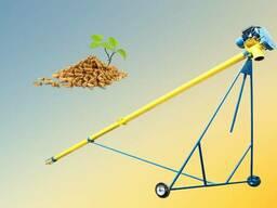 Шнековый погрузчик (шнек), транспортер для зерна