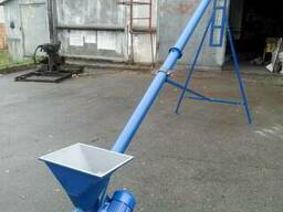 Шнековий транспортер, шнек (конвейер, винтовой, погрузчик)