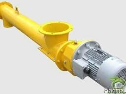 Шнековый транспортёр для цемента 220 мм. длинна 4 м. 16 т/ч