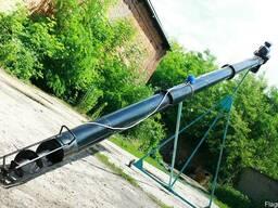 Шнековый транспортёр (погрузчик) в трубе 220 мм. длинной 6 м
