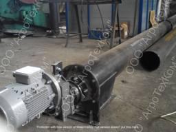 Шнековый винтовой конвейер для цемента