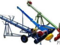 Шнековый загрузчик погрузчик зерномет транспортер 1-300т/ч