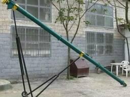 Шнековый зернопогрузчик, транспортер