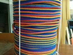 Вязаный шнур 7мм -100 метров
