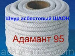 Шнур асбестовый общего назначения ШАОН (Китай), диаметр 6-30 - фото 1