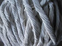 Шнур асбестовый (сухого и мокрого плетения) ШАОН 4-32мм