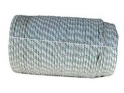 Шнур плетеный капроновый d 8 мм (разрыв 1120 кг)