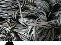 Шнур резиновый, профиль нт-8, производство г.Белая Церковь